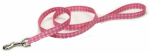 Coastal Pet Products 00966 PDT06 Dog Leash, Dot, Pink Nylon, 1-In. x 6-Ft.