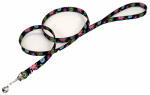 Coastal Pet Products 00966 WDF06 Dog Leash, Wildflower, Nylon, 1-In. x 6-Ft.