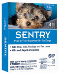 Sergeants Pet Care Prod 02362 Flea & Tick Treatment, For Dogs To 15-Lbs., 3-Ct.