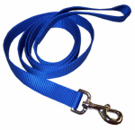 Coastal Pet Products 02906 B BLU06 Dog Leash, 2-Ply, Blue Nylon, 1-In. x 6-Ft.
