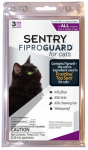 Sergeants Pet Care Prod 02954 Fiproguard Cat Flea & Tick Treatment, 3-Ct.