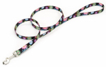 Coastal Pet Products 0366 WDF06 Dog Leash, Wildflower, Nylon, 3/8-In. x 6-Ft.