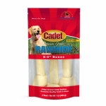 Ims Trading 10009 Gourmet Dog Treats, Rawhide Bone, 8-9-In., 3-Pk.