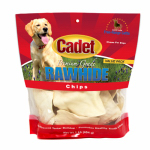 Ims Trading 10060-16 Gourmet Dog Treats, Rawhide Chips, Natural, 1-Lb.