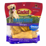 Ims Trading 10061-16 Gourmet Dog Treats, Rawhide Chips, Chicken, 1-Lb.