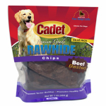 Ims Trading 10062-16 Gourmet Dog Treats, Rawhide Chips, Beef, 1-Lb.