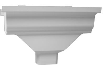 AW104 Duraspout Gutter Drop Outlet, 2 x 3-In. - Quantity 1
