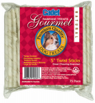 Ims Trading 10260-6 Gourmet Dog Treats, Rawhide Twist, 5-In., 75-Pk.