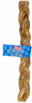 Ims Trading 10556-6 Gourmet Dog Treats, Rawhide Bully Stick, Braided, 12-In.