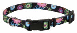 Coastal Pet Products 06321 A WDF12 Dog Collar, Adjustable, Wildflower, Nylon, 3/8 x 8-12-In.