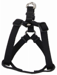 Coastal Pet Products 06345 A BLK16 Dog Harness, Adjustable, Black, 3/8 x 8-12-In.