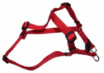 Coastal Pet Products 06345 A RED16 Dog Harness, Adjustable, Red, 3/8 x 8-12-In.