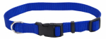 Coastal Pet Products 06401 A BLU14 Dog Collar, Adjustable, Blue Nylon, 5/8 x 10-14-In.