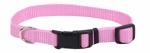 Coastal Pet Products 06401 A PKB14 Dog Collar, Adjustable, Pink Nylon, 5/8 x 10-14-In.