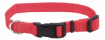 Coastal Pet Products 06401 A RED14 Dog Collar, Adjustable, Red Nylon, 5/8 x 10-14-In.