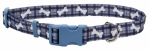 Coastal Pet Products 06402 A PBO18 Dog Collar, Adjustable, Plaid/Bone, Nylon, 5/8 x 12-18-In.
