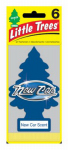 Car Freshner U6P-60189 Little Trees Car Air Freshener, New Car Scent, 6-Pk.