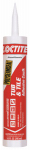 Henkel 1936543 Tub & Tile Adhesive Caulk, Almond, 10-oz. Cartridge