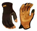 Radians DPG212L Leather Performance Gloves, Large