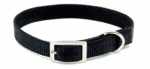 Coastal Pet Products 00401 B BLK14 Dog Collar, Red Nylon, 5/8 x 14-In.