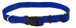 Coastal Pet Products 06601 A BLU20 Dog Collar, Adjustable, Blue Nylon, 3/4 x 14-20-In.