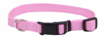Coastal Pet Products 06601 A PKB20 Dog Collar, Adjustable, Pink Nylon, 3/4 x 14-20-In.