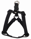 Coastal Pet Products 06645 A BLK32 Dog Harness, Adjustable, Black, 3/4 x 20-30-In.