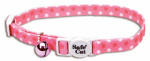 Coastal Pet Products 06701 A PDT12 Cat Collar, Adjustable, Pink Dot, 12-In.