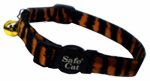 Coastal Pet Products 06781 A TIG12 Cat Collar, Adjustable, Tiger Print, 12-In.