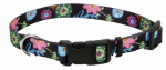 Coastal Pet Products 06902 A WDF26 Dog Collar, Adjustable, Wildflower, Nylon, 1 x 18-26-In.