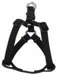 Coastal Pet Products 06945 A BLK40 Dog Harness, Adjustable, Black, 1 x 26-38-In.