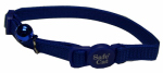 Coastal Pet Products 07001 A BLU12 Cat Collar, Adjustable, Blue, 12-In.