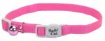 Coastal Pet Products 07001 A NPK12 Cat Collar, Adjustable, Pink, 12-In.