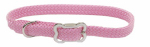Coastal Pet Products 08501 PKB12 Sunburst Dog Collar, Braided, Pink Nylon, 3/8 x 12-In.