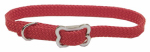 Coastal Pet Products 08501 RED12 Sunburst Dog Collar, Braided, Red Nylon, 3/8 x 12-In.