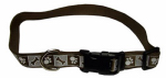 Coastal Pet Products 46481 A CPS18 Dog Collar, Reflective, Adjustable, Chocolate, 5/8 x 12-18-In.