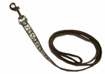 Coastal Pet Products 46484 B CPS04 Lazer Brite Dog Leash, Reflective, Chocolate, 5/8-In. x 4-Ft.