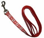 Coastal Pet Products 46984 B RPS04 Lazer Brite Dog Leash, Reflective, Red, 1-In. x 4-Ft.