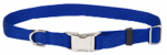 Coastal Pet Products 61601 A BLU18 Dog Collar, Adjustable, Blue Nylon, 3/4 x 12-18-In.