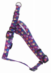 Coastal Pet Products 66445 A SPW24 Dog Harness, Adjustable, Paws, Nylon, 5/8 x 16-24-In.