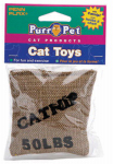 Penn Plax CAT532 Catnip Burlap Bag