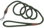 Coastal Pet Products R0206 GRN06 Dog Leash, Green Nylon Rope, 36-In.