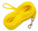Coastal Pet Products R3825 G YEL25 Dog Check Cord, Yellow Nylon, 1/4-In. x 25-Ft.