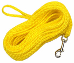 Coastal Pet Products R3850 G YEL50 Dog Check Cord, Yellow Nylon, 1/4-In. x 50-Ft.