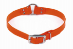 Coastal Pet Products R4905 ORG18 Dog Collar, Waterproof, Orange, 1 x 18-In.