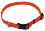 Coastal Pet Products R6901 G SOR26 Dog Collar, Adjustable, Orange, 1-In.