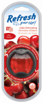 Energizer Battery 09027Z Car Scent Diffuser, Vent Clip, Very Cherry Scent, 1.3 oz.