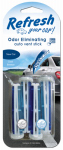 Energizer Battery 09578 Car Air Freshener, Vent Stick, New Car/Cool Breeze Scent, 4-Pk.