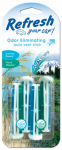 Energizer Battery 09591 Car Air Freshener, Vent Stick, Summer Breeze & Alpine Meadow Scents, 4-Pk.