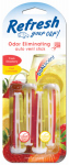 American Covers 09593 Car Air Freshener, Vent Stick, Fresh Strawberry & Cool Lemonade Scent, 4-Pk.